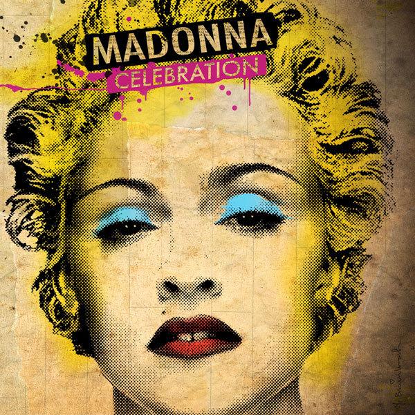 """Madonna - """"Celebration"""" album cover"""