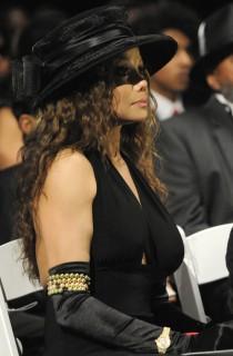 LaToya Jackson // Michael Jackson's Private Funeral