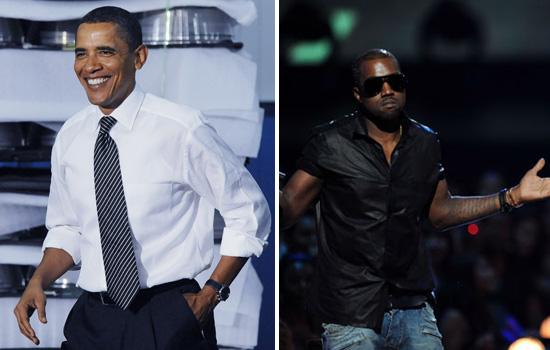 President Barack Obama // Kanye West