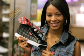 """Vanessa Simmons // In-Store Launch of """"Smoothie"""" Line of Pastry Sneakers"""