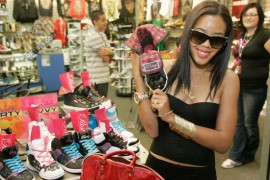 """Angela Simmons // In-Store Launch of """"Smoothie"""" Line of Pastry Sneakers"""