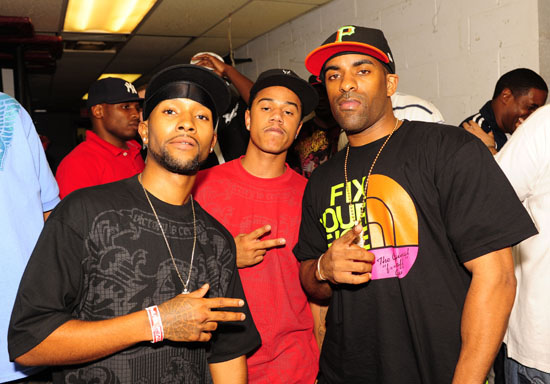 Boog, Fizz and DJ Clue // Power Live concert in New York City