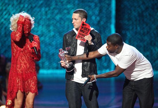 Lady Gaga, Eminem and Tracy Morgan // 2009 MTV Video Music Awards (Show)