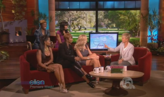 The Real Housewives of Atlanta Get Real Hood on Ellen (click to watch!)