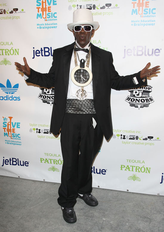"Flavor Flav // VH1 Hip Hop Honors 2009 After Party to Benefit ""Save The Music"" Foundation"