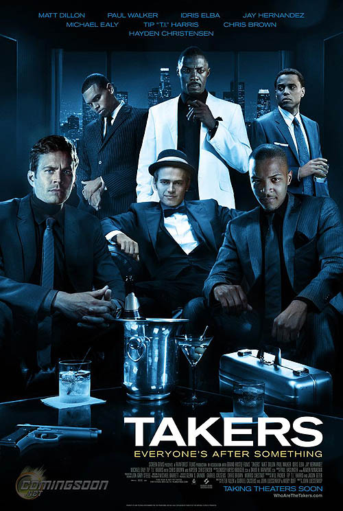 """""""Takers"""" Movie Poster"""