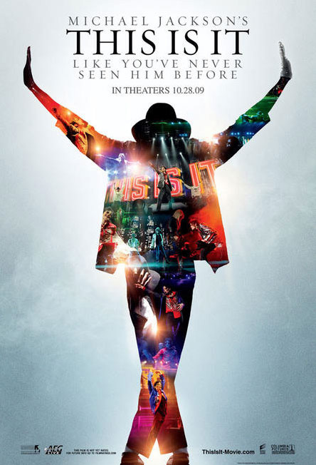 """Michael Jackson """"This Is It"""" Movie Poster"""
