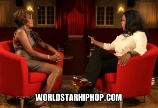Whitney Houston on Oprah (click to watch!)