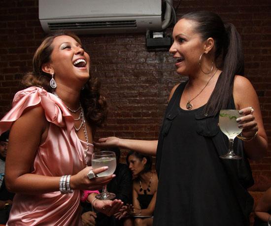 Adrienne Bailon // Adrienne Bailon's 26th Birthday Dinner at Le Souk Harem in New York City