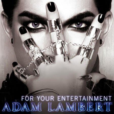"Adam Lambert - ""For Your Entertainment"" single cover"