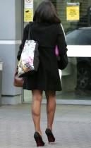 Alexandra Burke outside MTV Studios in London, England (October 15th 2009)