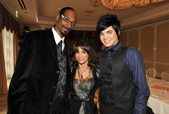 Snoop Dogg, Paula Abdul and Adam Lambert // Press Conference for Announcement of Nominees of 2009 American Music Awards