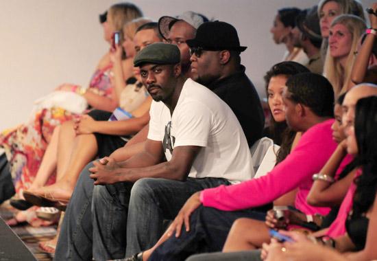 Idris Elba // Argyle Couture Fashion Show for Rock Fashion Week 2009 in Miami