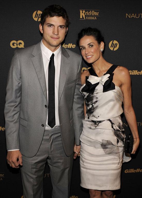 Ashton Kutcher & Demi Moore // 2009 GQ Gentleman's Ball