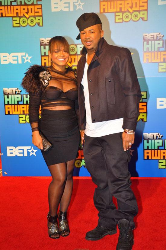 Christina Milian & The Dream // 2009 BET Hip-Hop Awards (Red Carpet)