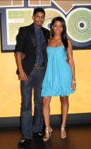 Fonzworth Bentley & Faune A. Chambers // 2009 BET Hip-Hop Awards (Red Carpet)