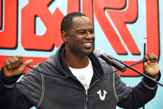 "Brian McKnight // Brian McKnight Promotes ""Evolution Of A Man"" at J&R Music and Computer World"