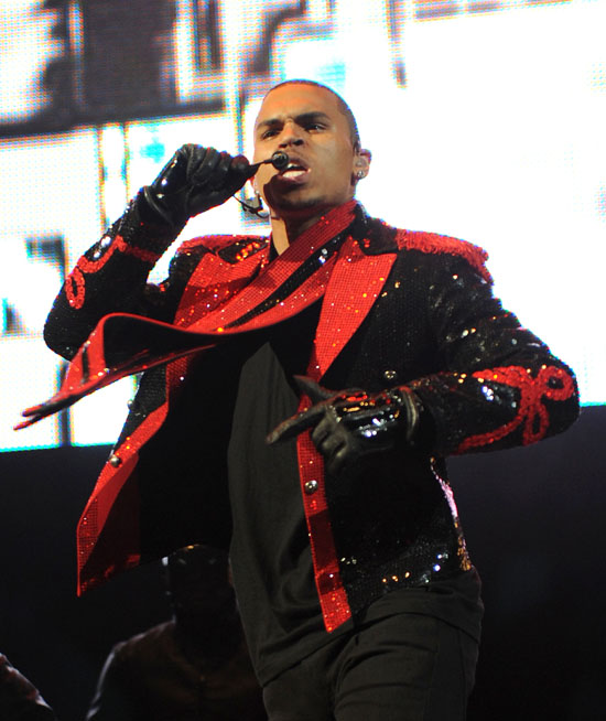 Chris Brown // Power 105.1's Powerhouse Concert in New Jersey