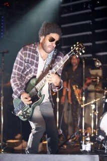 Lenny Kravitz in concert at The Fillmore New York at Irving Plaza in New York City
