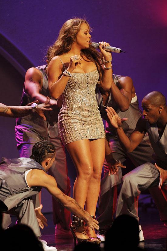 Mariah Carey performs at The Pearl at The Palms Casino Resort in Las Vegas