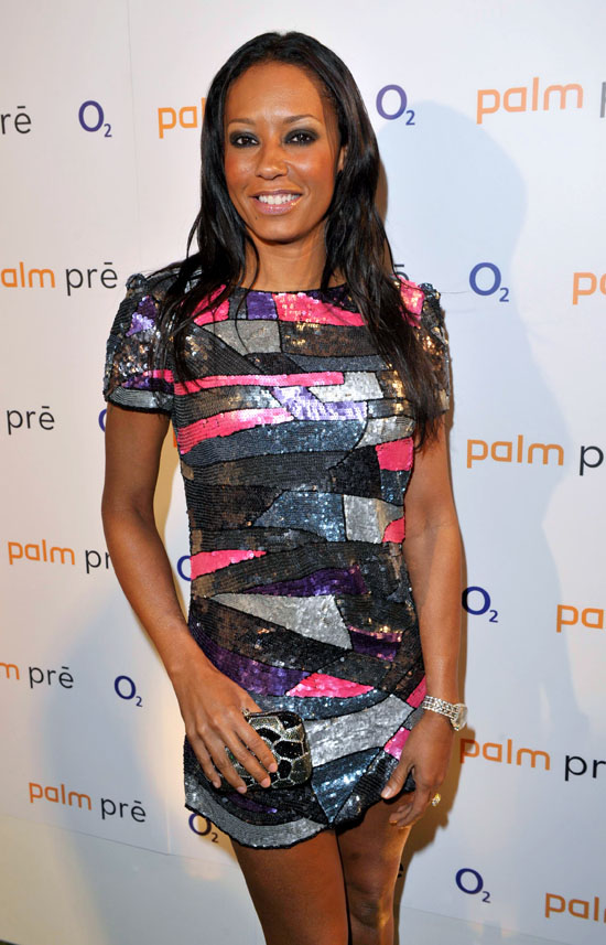 Melanie Brown // Launch event for the O2 Palm Pre in London