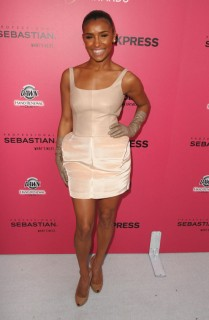 "Melody Thornton // Opening night of ""County of Kings"" in New York City"