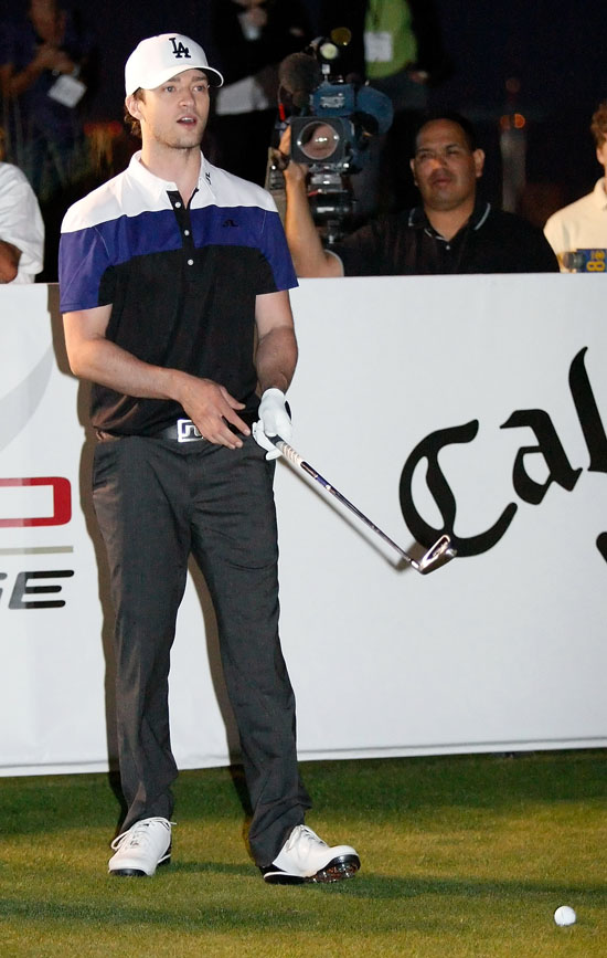 Justin Timberlake // Shriners Hospitals for Children Charity Golf Open