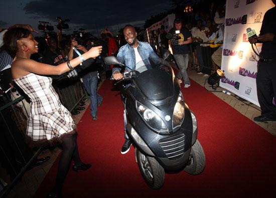 Wyclef Jean // MTV Africa Music Awards (MAMA) in Nairobi, Kenya - Red Carpet
