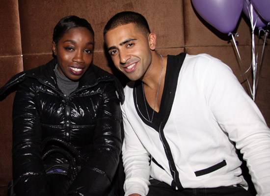 Estelle and Jay Sean // Cocktails with Jessica event at Taj in New York City
