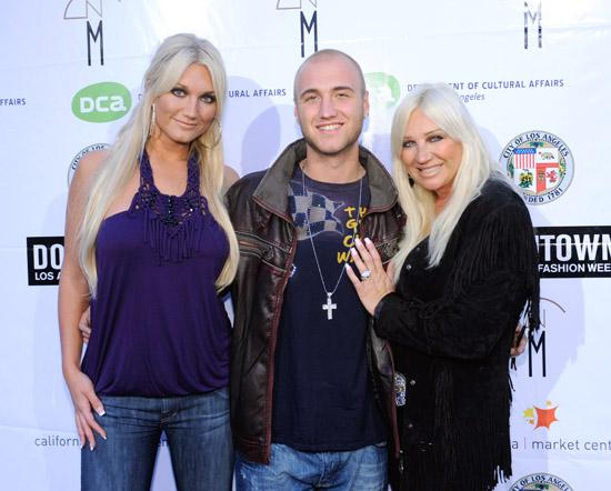 Brooke, Nick and Linda Hogan // Downtown LA FAshion Week fashion show for Alakazia (Backstage)