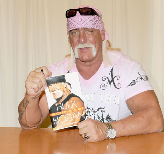 "Hulk Hogan // Book Signing for his new book ""My Life Outside the Ring"""