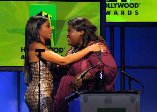 Gabourey Sidibe & Taraji P. Henson // 13th annual Hollywood Awards Gala in Beverly Hills