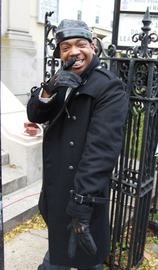 """Ja Rule on the set of his music video for """"Father Forgive Me"""" in New York City (October 14th 2009)"""