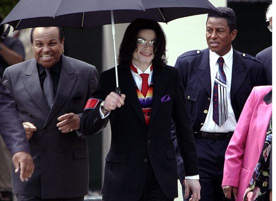 Joe Jackson, Michael Jackson and Jermaine Jackson