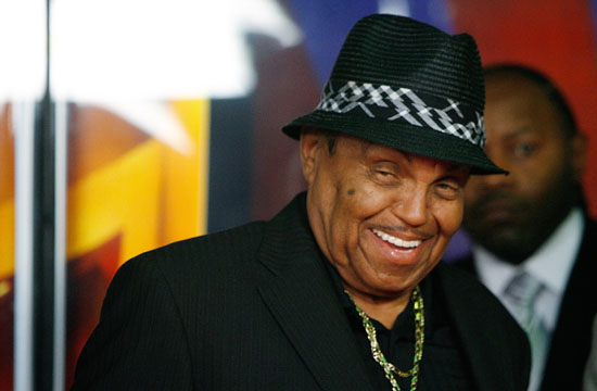 """Joe Jackson // Press Conference in Las Vegas Announcing the new """"Jackson Family Museum & Performing Arts Center"""" in Gary, Indiana"""