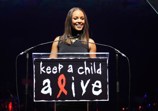 Alicia Keys // Keep A Child Alive Foundation's 6th Annual Black Ball