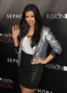 "Kim Kardashian // ""Infatuation"" Lip Gloss Launch"