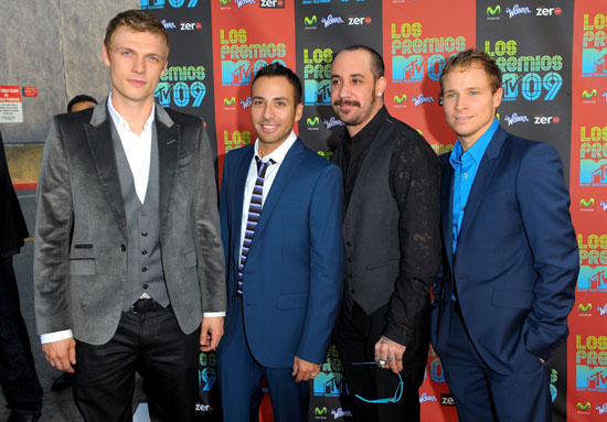 Backstreet Boys // Los Premios MTV 2009 Latin America Awards