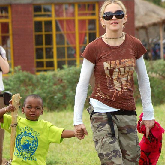 Madonna & her son David Banda