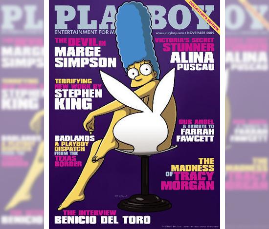 Marge Simpson // November 2009 Playboy Magazine