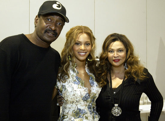 Math Knowles, Beyonce and Tina Knowles