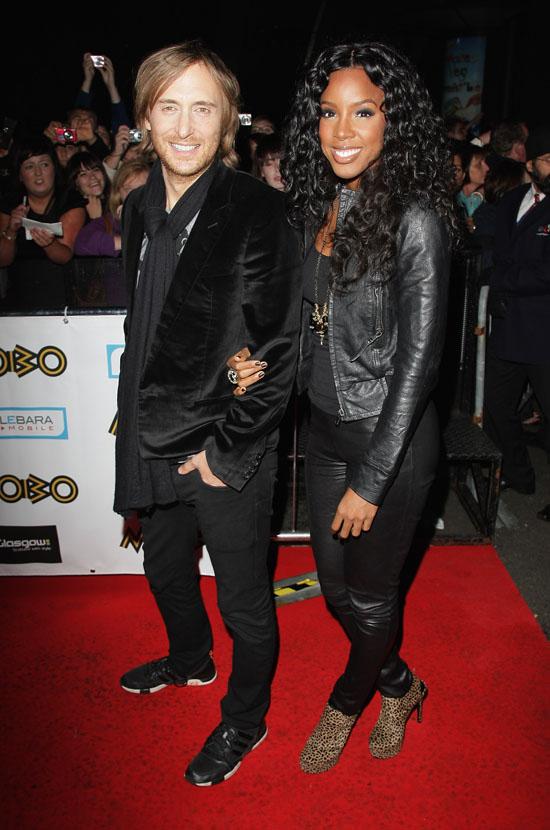 David Guetta & Kelly Rowland // 2009 MOBO Awards