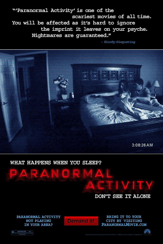 Paranormal Activity (Movie Poster)