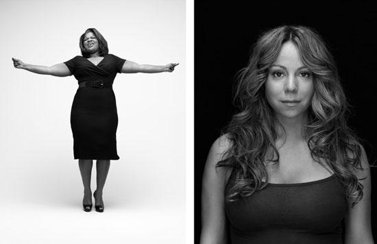 Mo'Nique and Mariah Carey