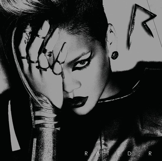 "Rihanna - ""Rated R"" album cover"