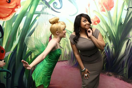 "Raven Symone & Tinker Bell // Tinker Bell Named ""Honorary Ambassador Of Green"" By United Nations"
