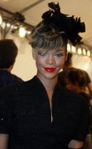 Rihanna // Christian Dior Pret a Porter Fashion Show (Paris Womenswear Fashion Week 2009)
