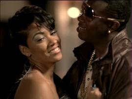 """Gucci Mane F/ Usher - """"Spotlight"""" music video still (also pictured: Bria Murphy, Eddie Murphy's oldest daughter)"""