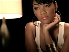 """Gucci Mane F/ Usher - """"Spotlight"""" music video still (pictured: Bria Murphy, Eddie Murphy's oldest daughter)"""