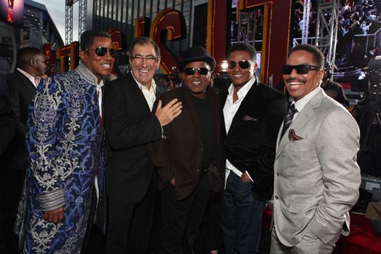 "Jermaine Jackson, Kenny Ortega, Tito Jackson, Jackie Jackson and Marlon Jackson // Michael Jackson ""This is It"" Hollywood Premiere"